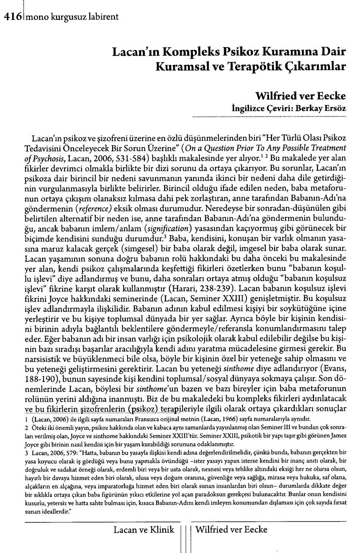 Monokl - Sayı 6-7 - 2009 Yaz (Lacan Seçkisi Sayısı) Kısım 2 ... serapportantà Amanagement Cour Extarieur