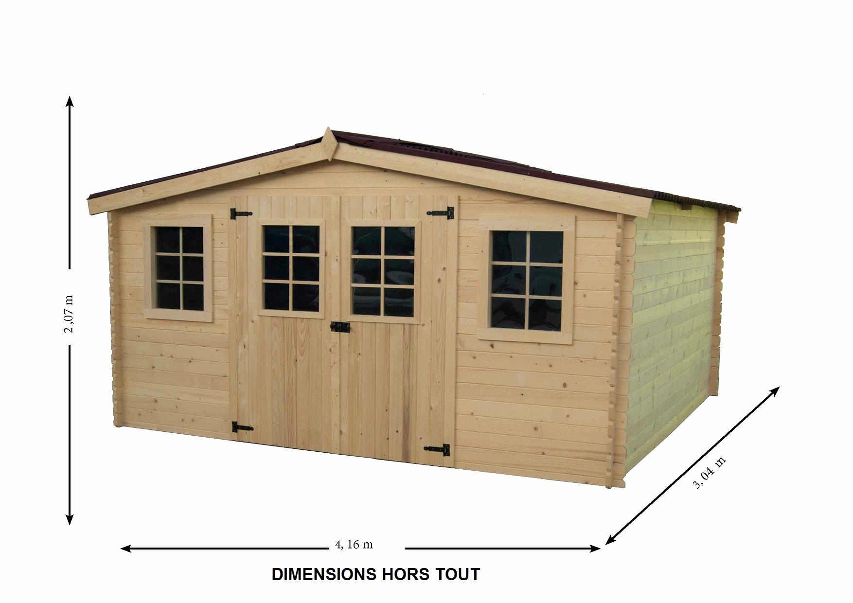 Nouveau Cabane De Jardin 10M2 - Luckytroll tout Abri Jardin 12M2