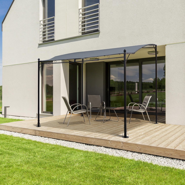 Pergola Abri Ou Terrasse En Fer Métallique Normés Et Fabrication Européenne pour Abris De Terrasse