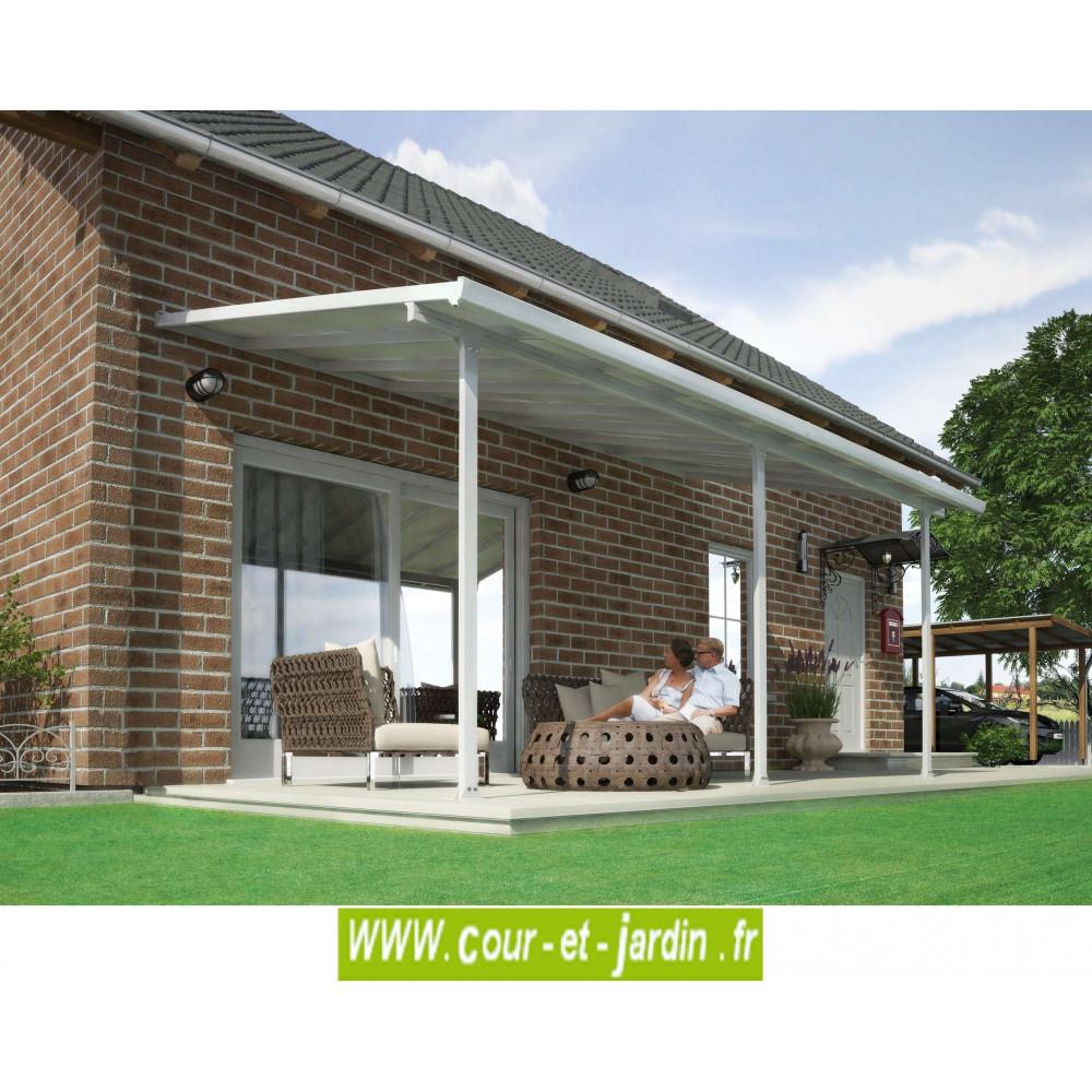 Pergola Alu 3Mx5 - Tonnelles - Auvents - Cour Et Jardin tout Toit Terrasse Aluminium