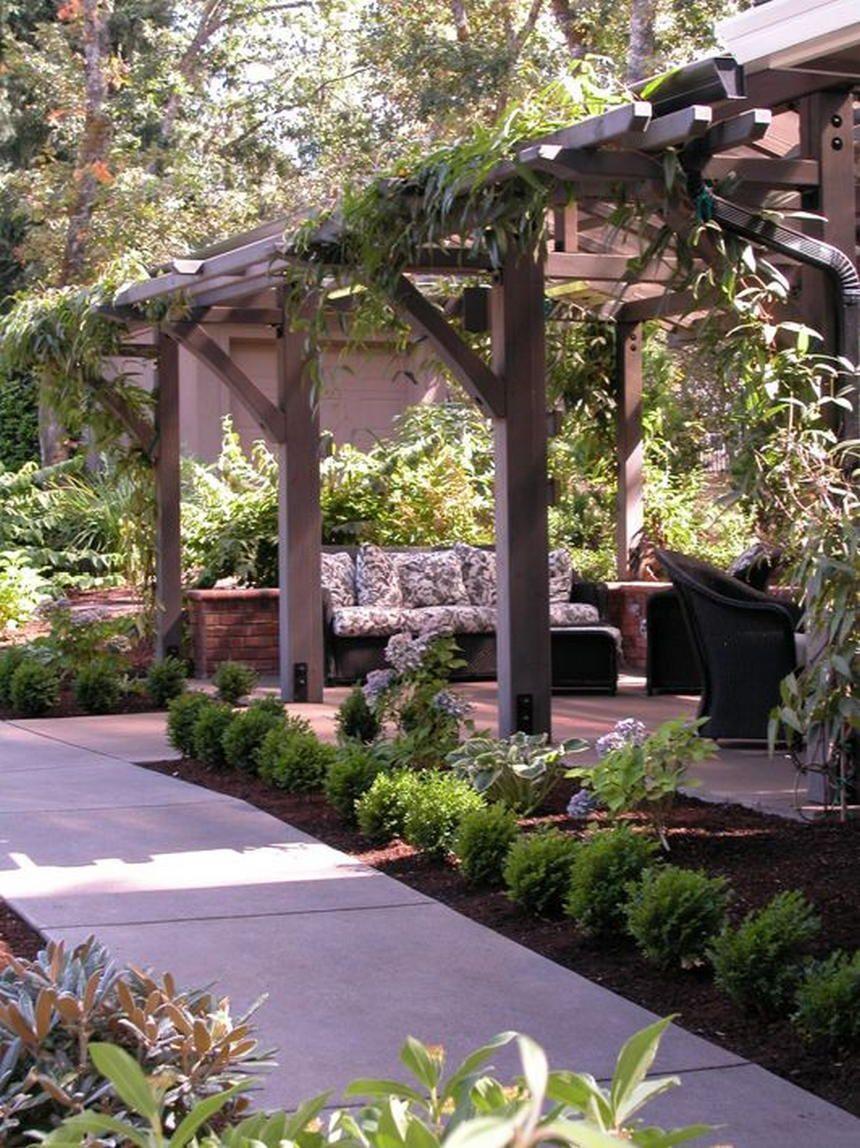 Pergola Designs 35 | Exterieur | Jardins, Patio Pergola Et ... destiné Abri De Jardin Design