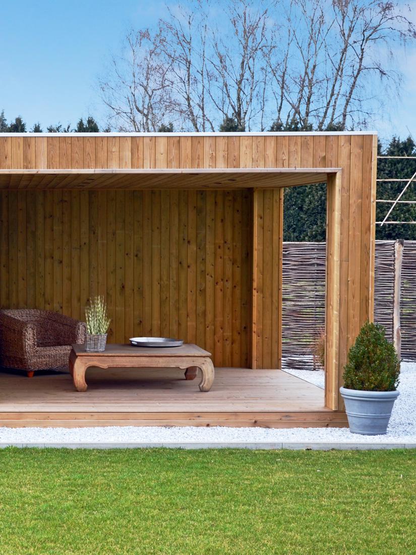 Pergola En Bois Pour La Terrasse Et Le Jardin Certifiée Pefc ... tout Abri Terrasse Bois