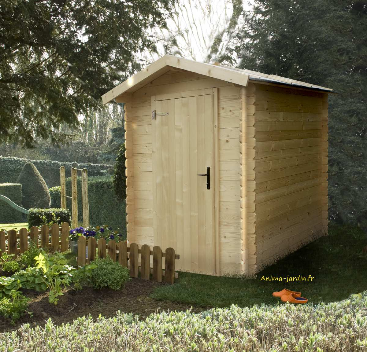 Petit Abri Jardin, 19Mm, Bex, 2.43M², Pas Cher, Vélo ... destiné Abri Pas Cher