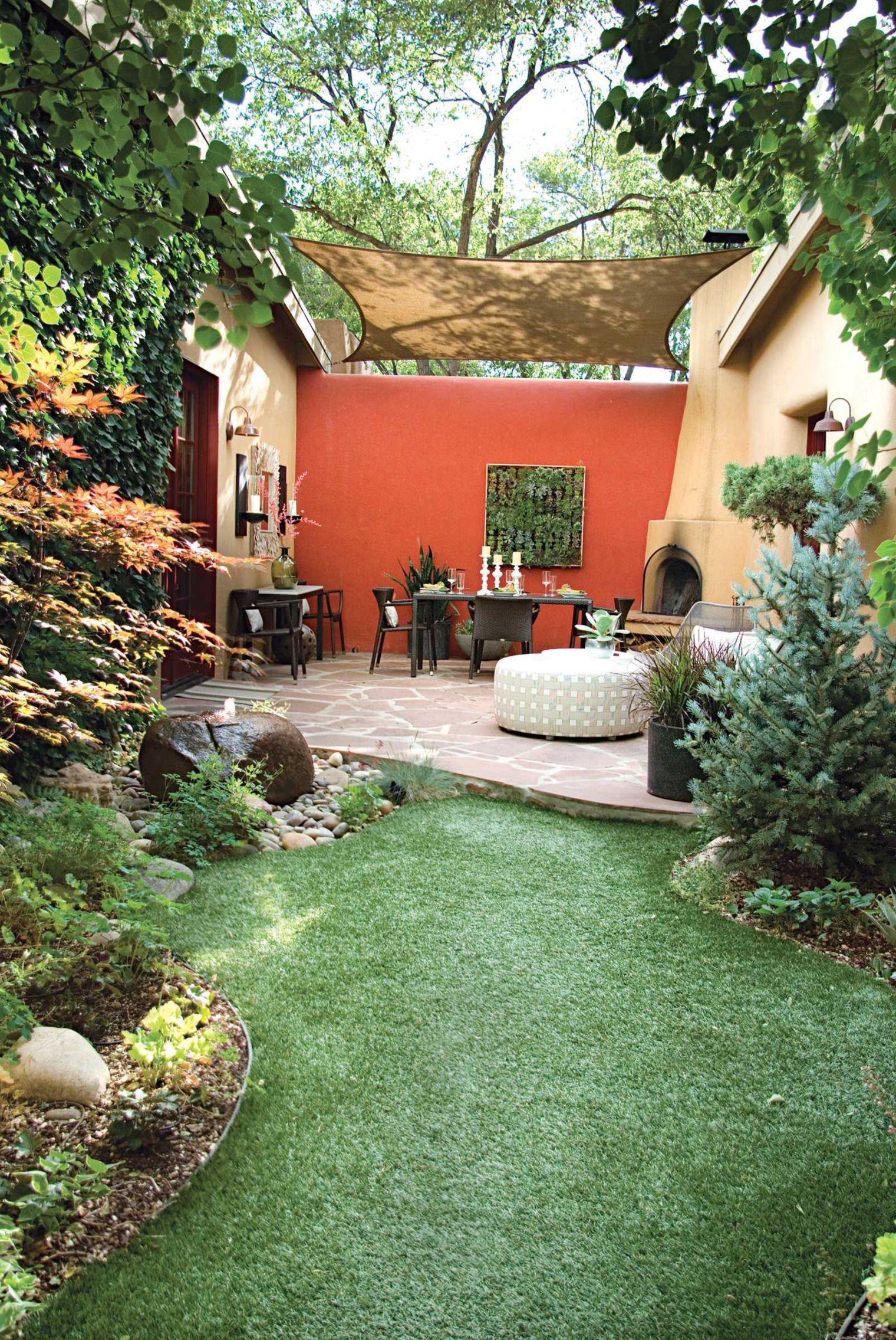 Petit Jardin : 8 Aménagements Repérés Sur Pinterest ... concernant Amanager Un Petit Jardin