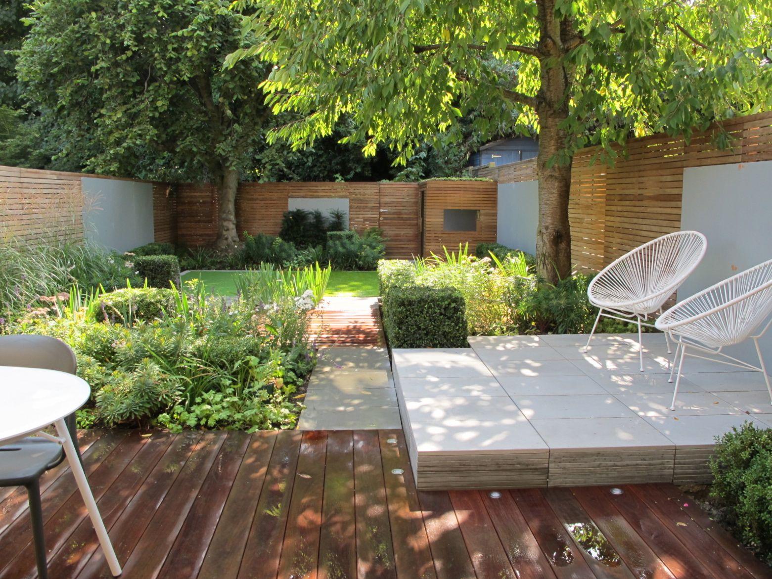 Petit Jardin Design À L'abri Des Regards. | Garden - Terrace ... pour Abri Jardin Design
