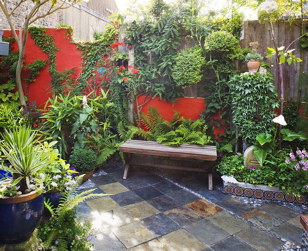 Petit Jardin ▷ Le Guide D'aménagement 2020 [10 Idées ... pour Amenager Jardin Rectangulaire