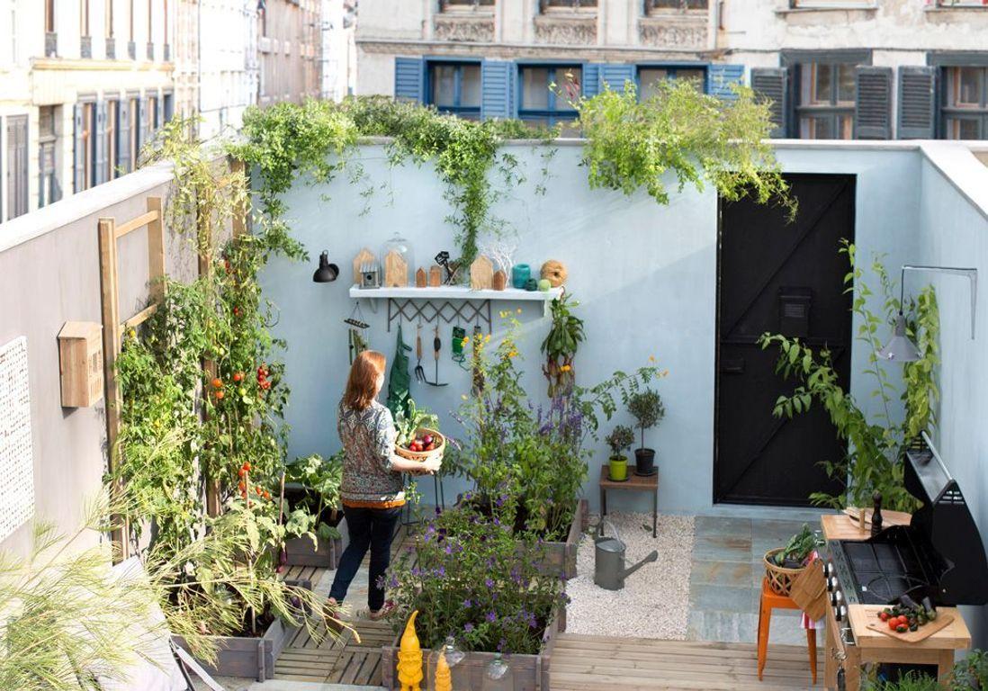 Petit Jardin : Nos Astuces Et Conseils Pour Un Petit Jardin ... tout Amanager Un Petit Jardin