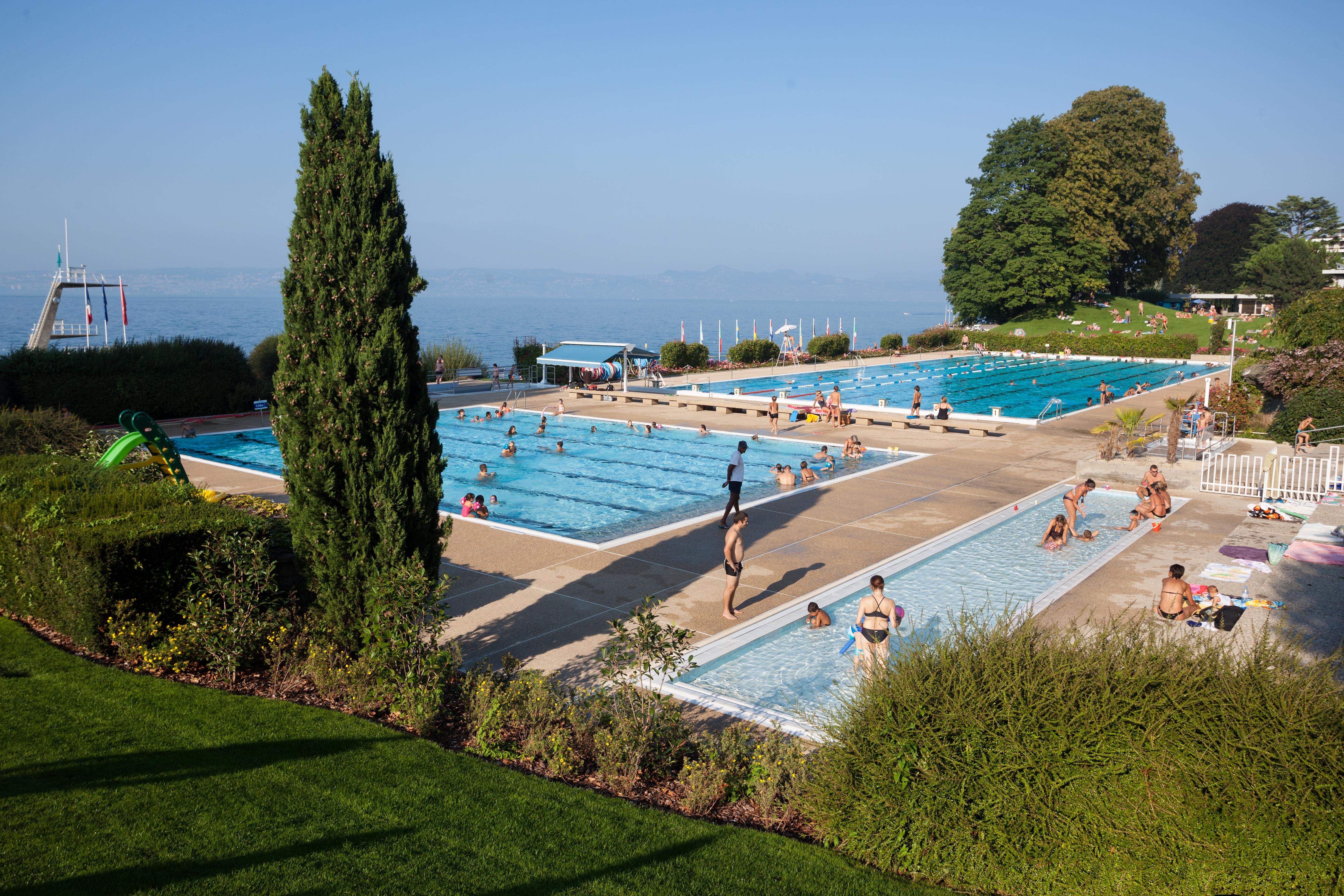 Piscine, Piscine - Bassin Olympique | Ville D'evian tout Piscine Evian