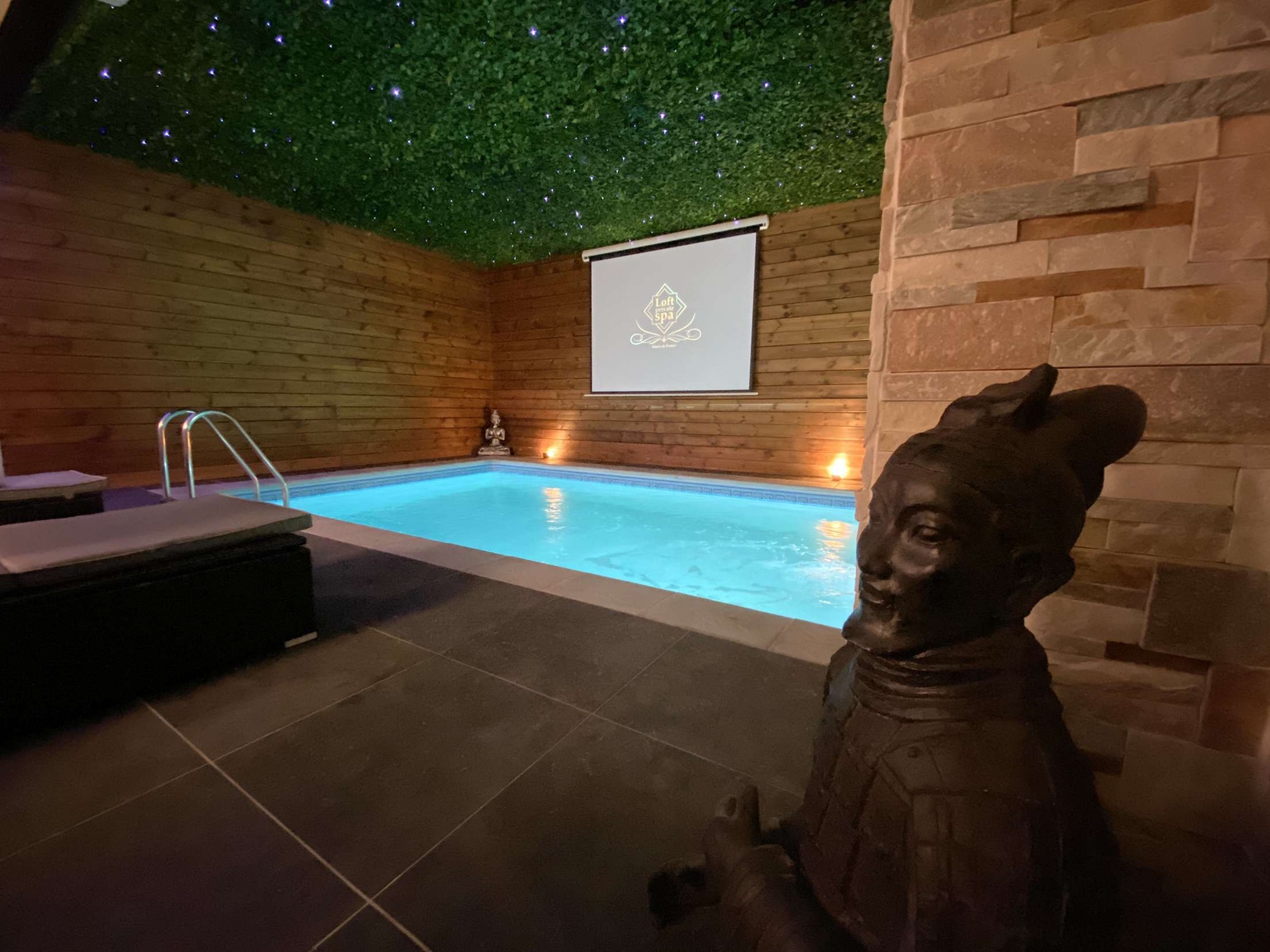 Piscine Privative Dans Le Nord Loft Private Spa | Loft ... intérieur Piscine Lillers