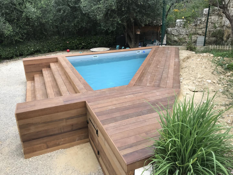 Pose De Terrasse En Bois À Nice - Alpes-Maritimes 06 pour Bois Pour Terrasse Piscine