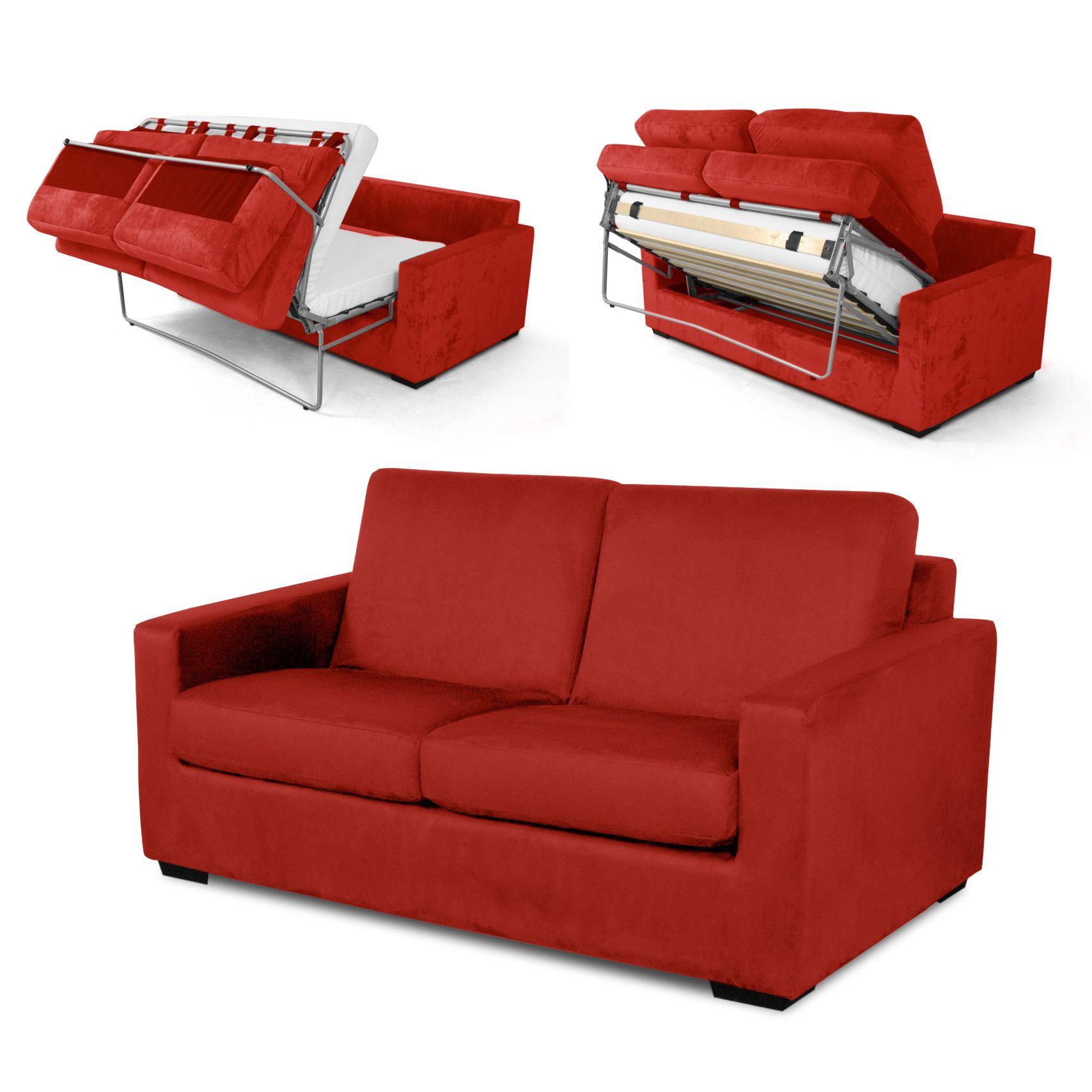 Pouf Convertible Lit 2 Places Chauffeuse Lit 2 Places Lit 2 ... intérieur Canape Conforama Convertible