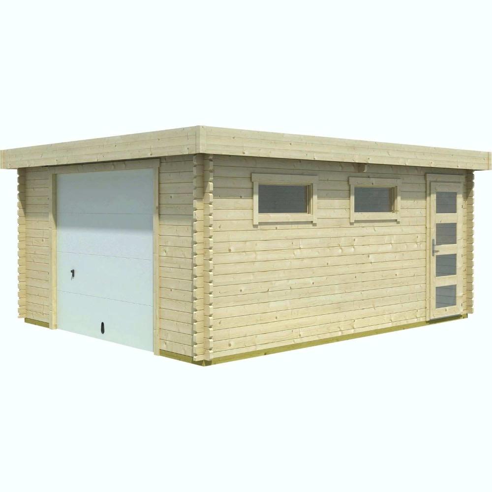 Prix Construction Garage 20M2 G Nial (Avec Images)   Abri De ... intérieur Abris De Jardin 20M2
