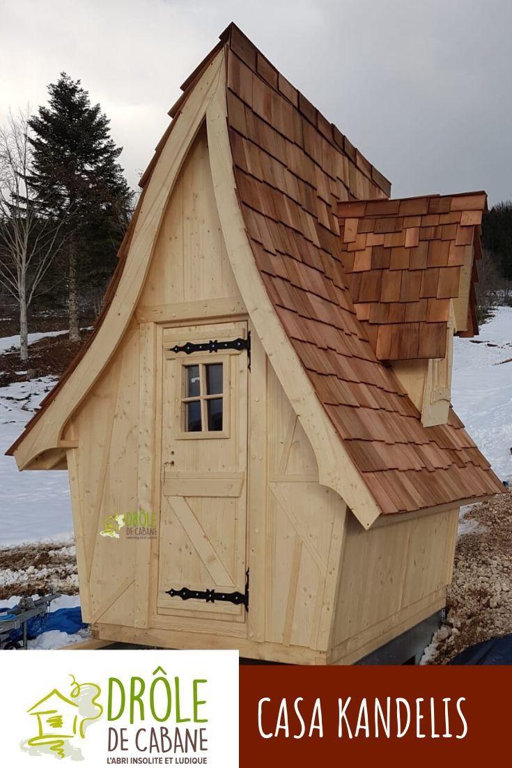 Quoi De Plus Joli Que La Casa Kandelis, Dans Votre Jardin ... dedans Abri Jardin 3M2