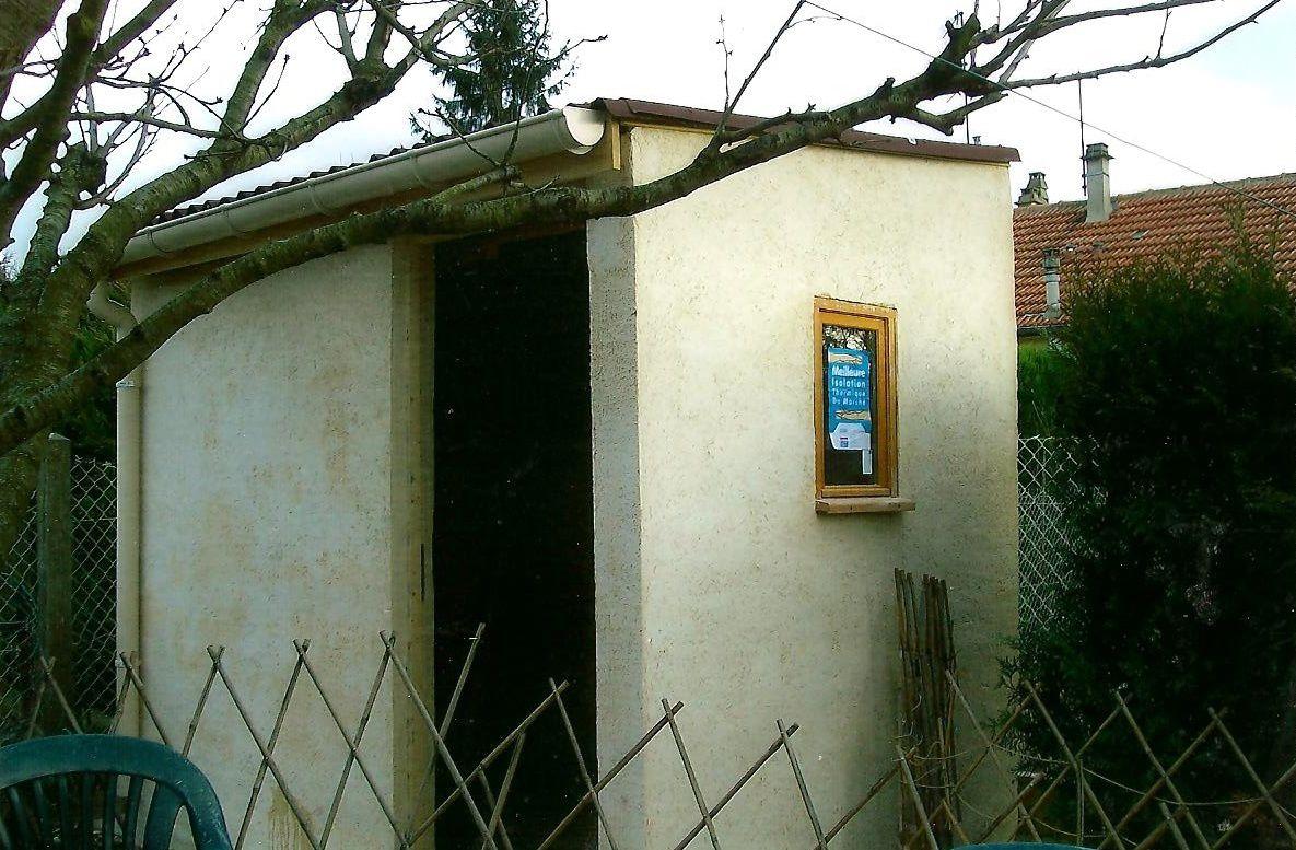Réalisation Abris De Jardin En Dur - Artisan Roger Dufresne tout Abri De Jardin En Dur