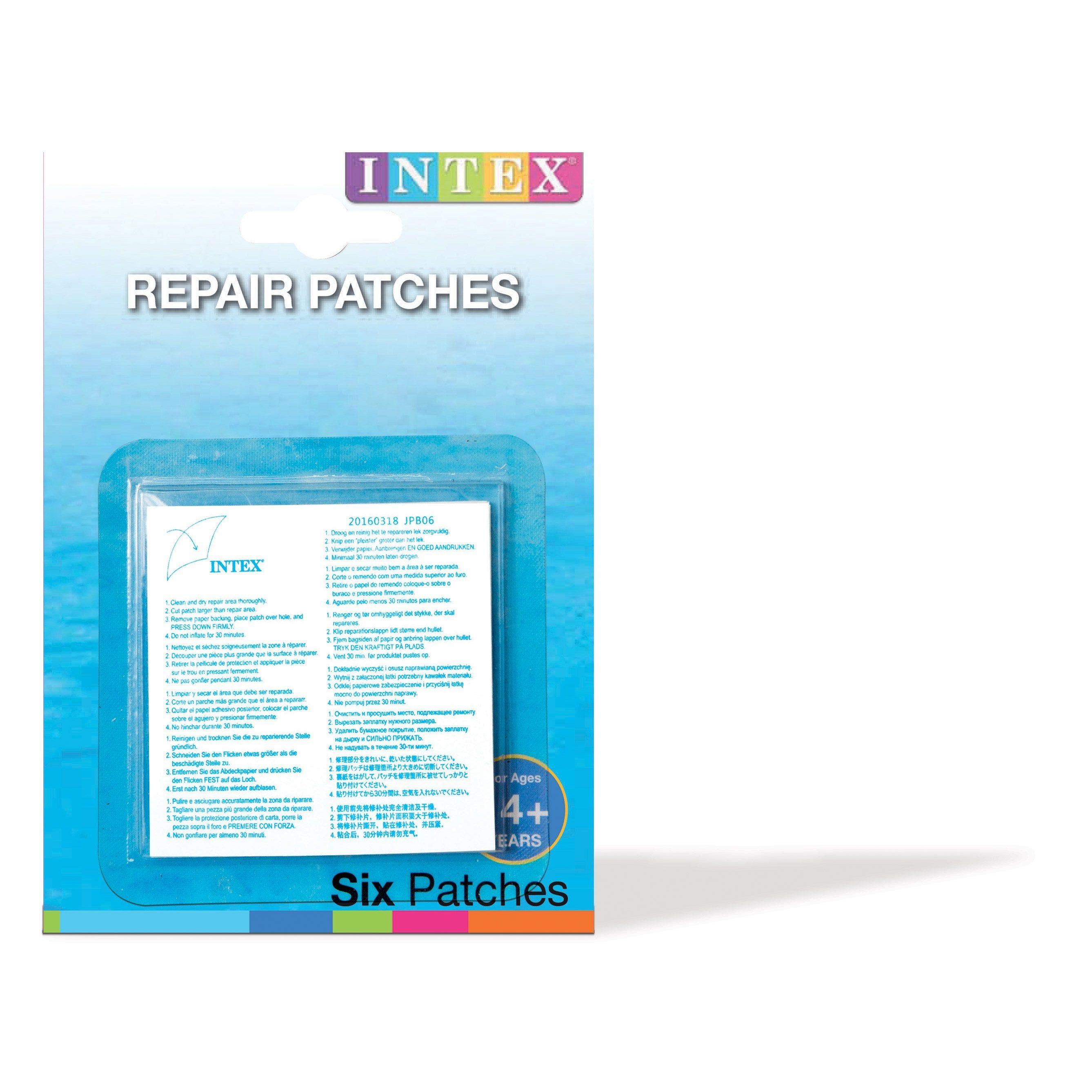 Rustine De Réparation Intex Pour Piscine | Réparation dedans Rustine Piscine Intex