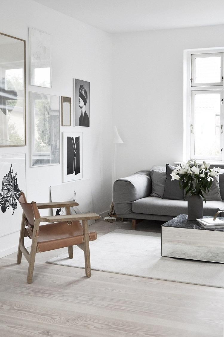 Salon Blanc Et Gris - Un Tas De Nouvelles Inspirations Pour ... serapportantà Salon Gris Et Blanc