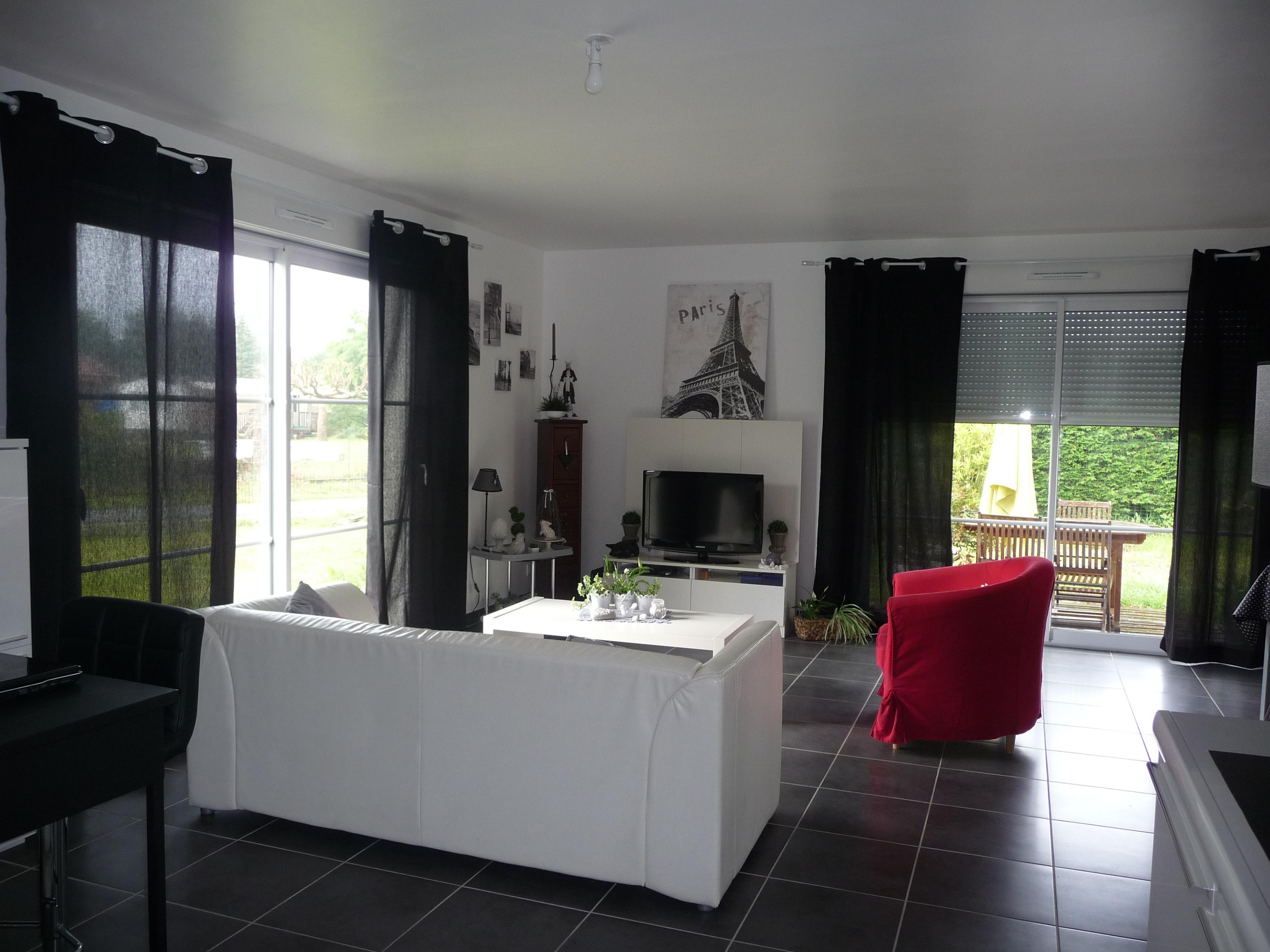 Salon Blanc Noir Gris Ba75C2Fd - Banphotphisai concernant Salon Gris Et Blanc