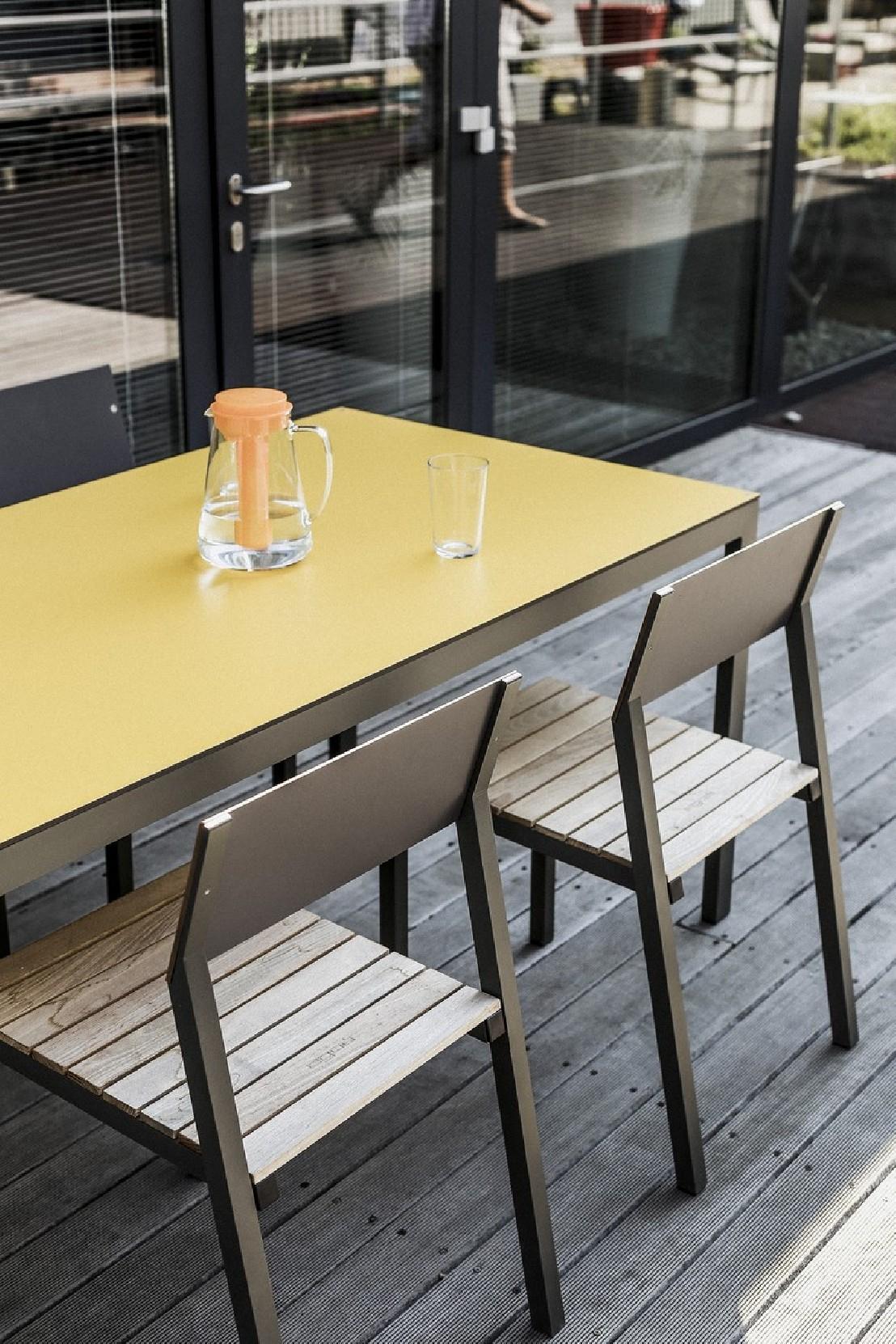 Salon De Jardin Cora, Table Rectangle 175 Cm Et 4 Chaises ... avec Salon De Jardin Cora