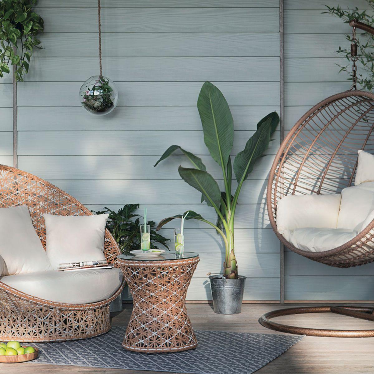 Salon De Jardin Design, Nature Ou Coloré : Les Nouveautés ... tout Salon De Jardin Truffaut