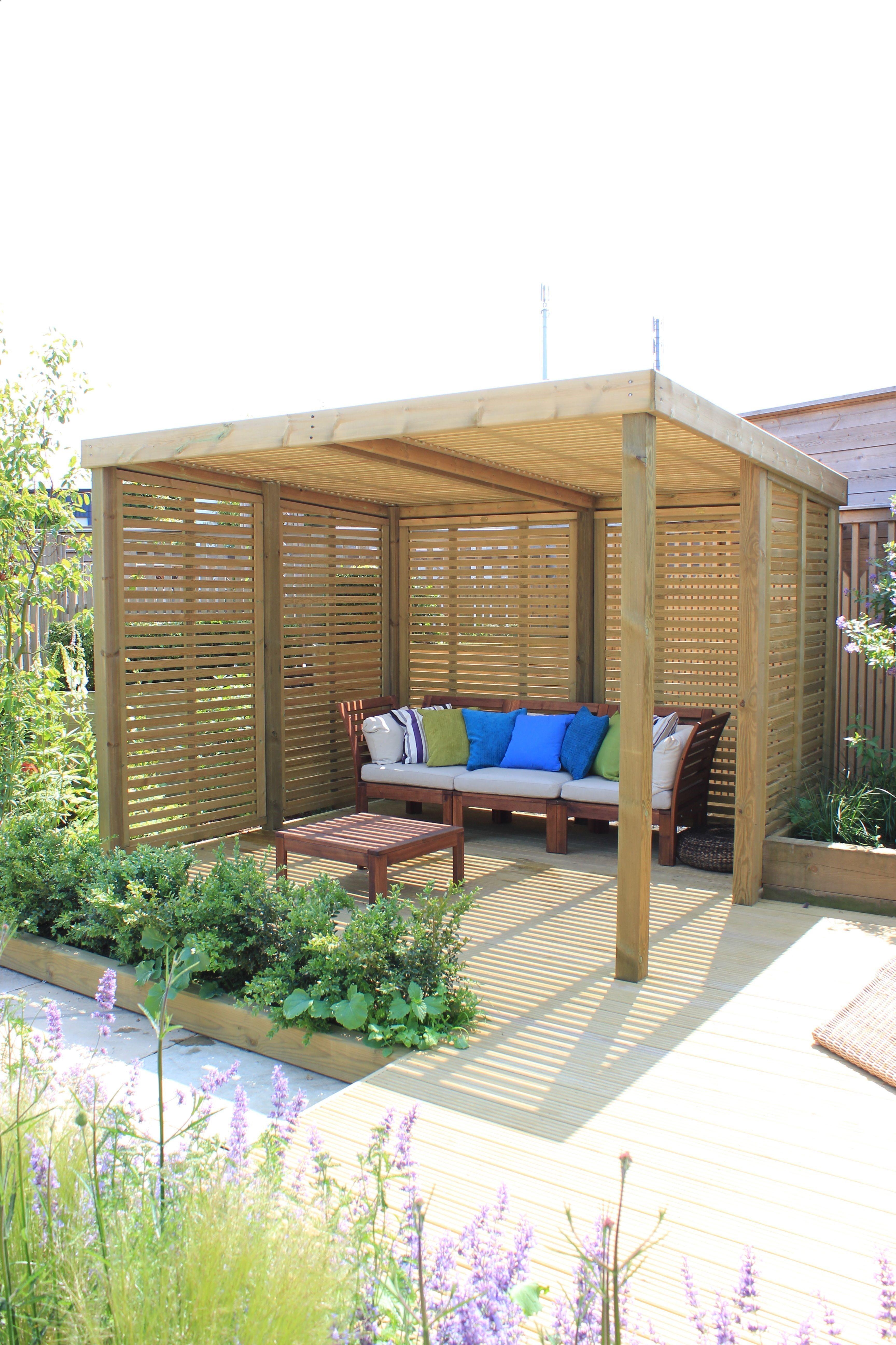 Shed Diy - A Contemporary Garden Shelter From Jacksons ... destiné Abri De Jardin Contemporain