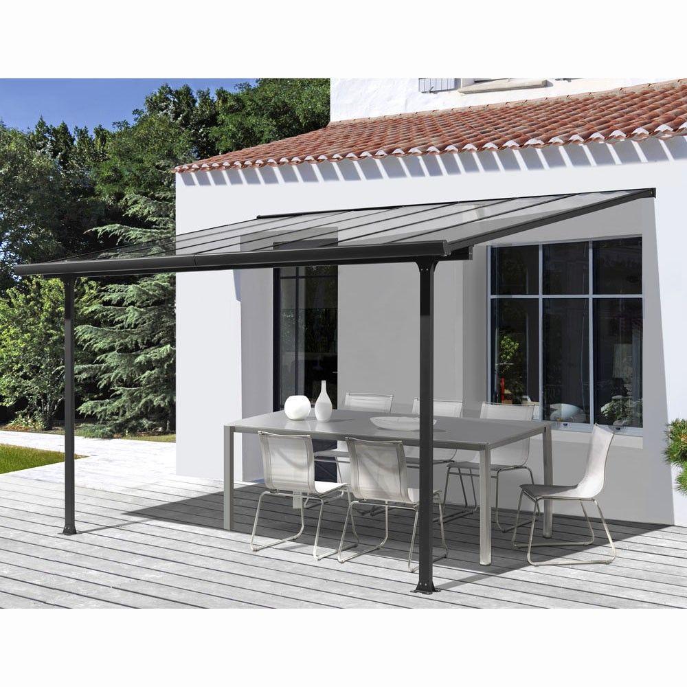 Soldes - Tonnelle Et Pergola | Terrasse dedans Toit Terrasse Aluminium