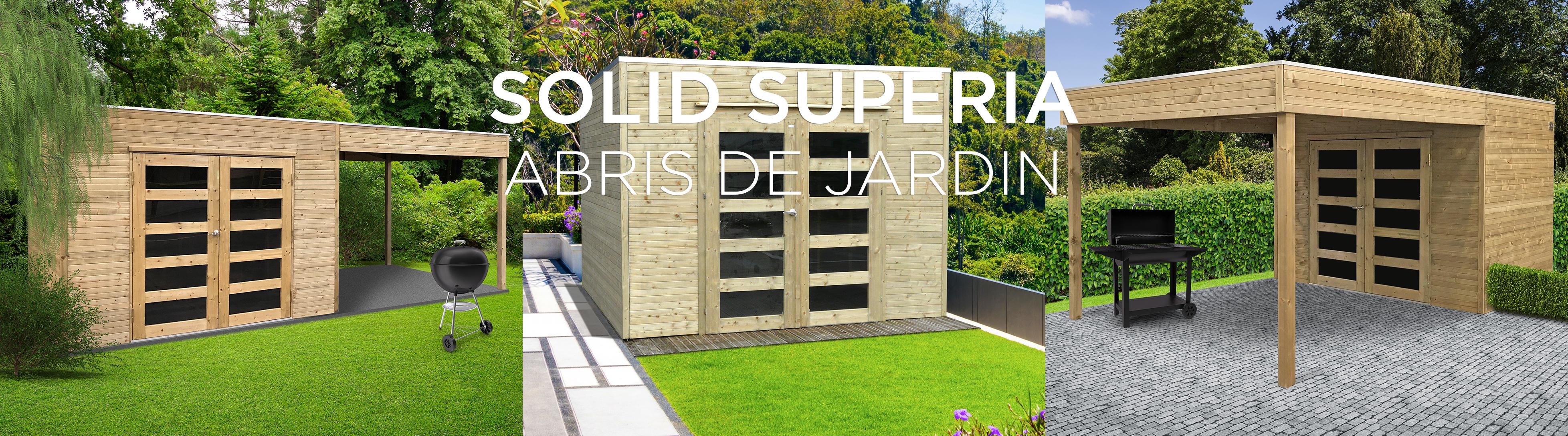 Solid Creating Outdoor Comfort intérieur Abri De Jardin Solid