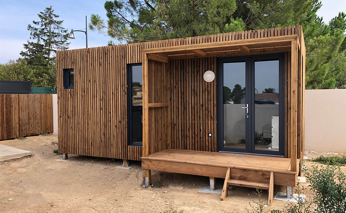 Studio De Jardin En Bois, 20M² pour Abris De Jardin 20M2