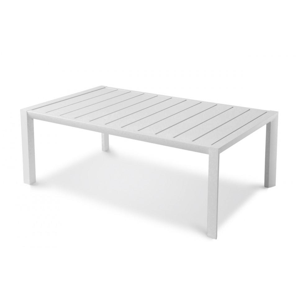 Sunset Low Table 100 X 60 Cm pour Table De Jardin En Aluminium