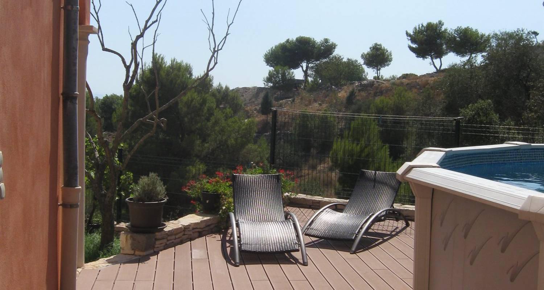 Superbe Appartement Indépendant Avec Piscine, Terrasse, Jardin En Rdc De  Villa. In Marseille - 28817 pour Terrasse Avec Piscine