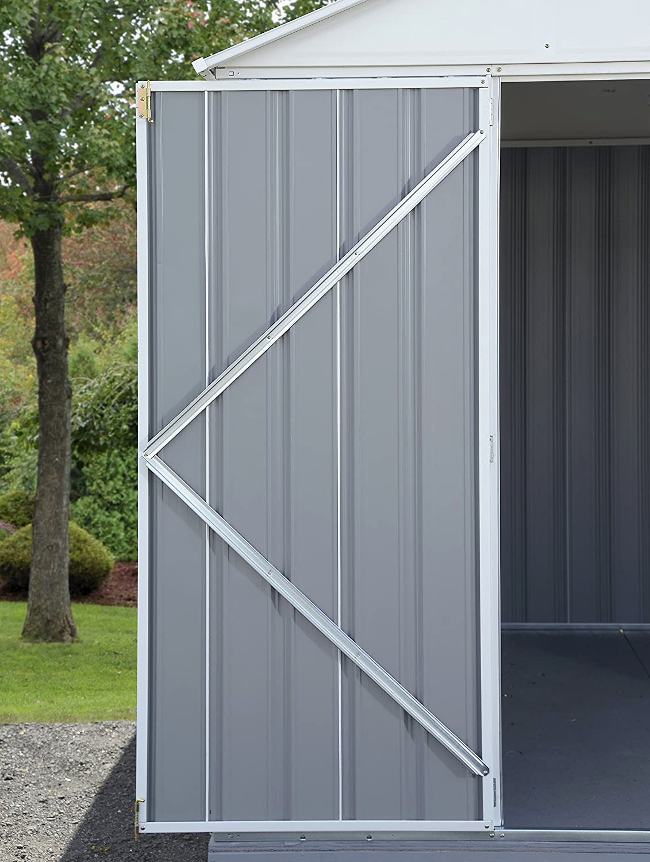 Surprenant Abri De Jardin En Metal Galvanise serapportantà Abri Jardin 4M2