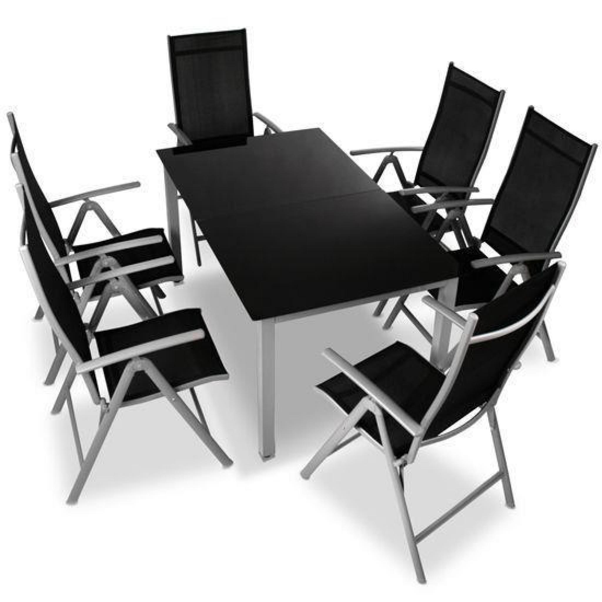 Table Chaises Jardin Aluminium avec Table Et Chaises De Jardin Pas Cher