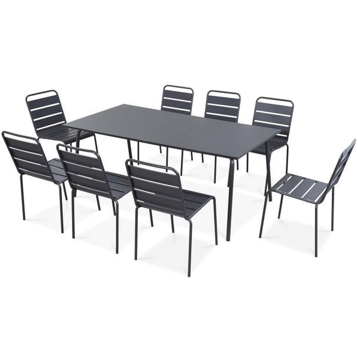 Table De Jaridn pour Table Et Chaises De Jardin Pas Cher