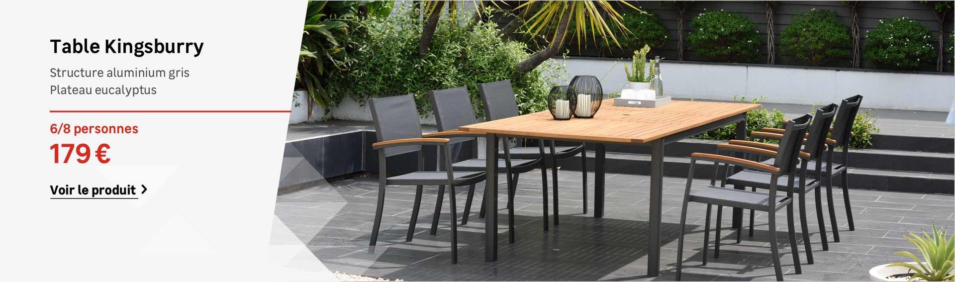 Table Et Chaise De Jardin Aluminium Inspirant Table Et ... pour Table Et Chaises De Jardin Pas Cher