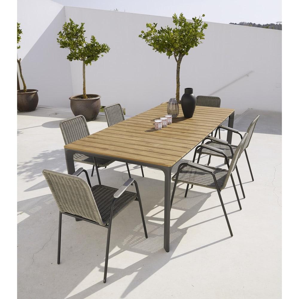 Table Jardin 16 Personnes - 28 Images - Table De Jardin ... dedans Table De Jardin En Aluminium