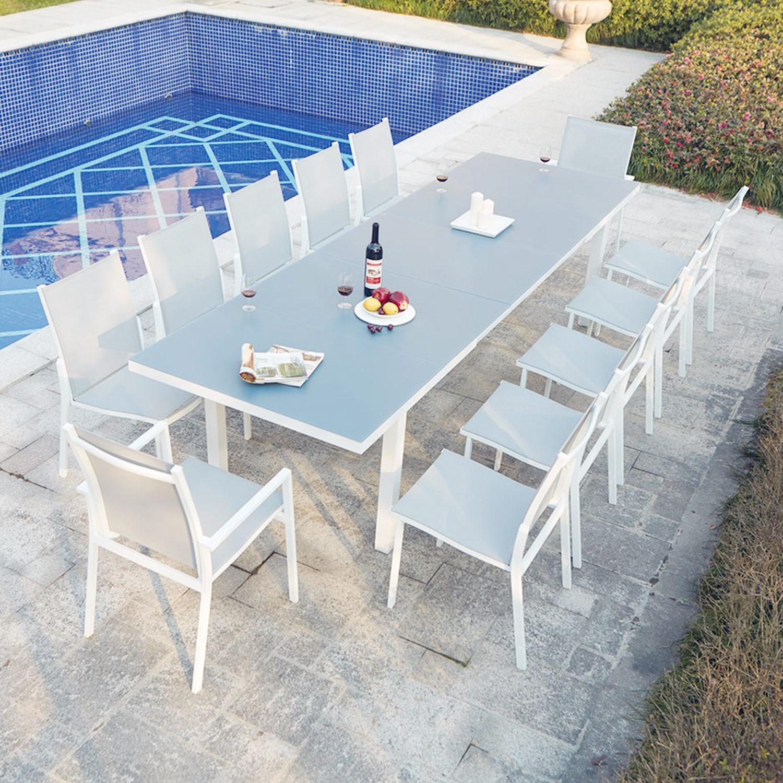 Table Jardin 16 Personnes - 28 Images - Table De Jardin ... destiné Table De Jardin En Aluminium