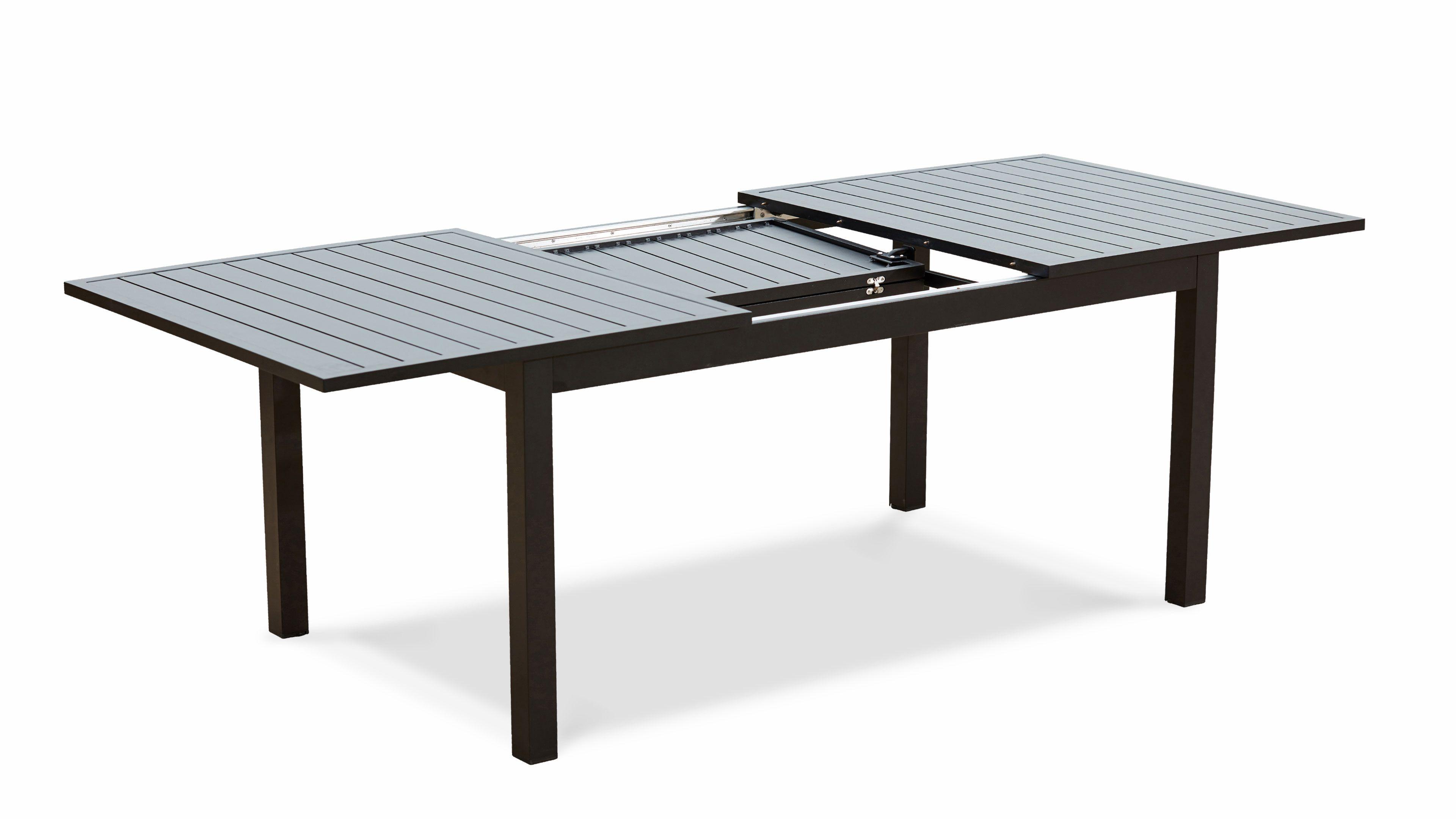 Table Jardin Extensible Rallonge 174/238 Cm Aluminium serapportantà Mobilier Extarieur Pas Cher