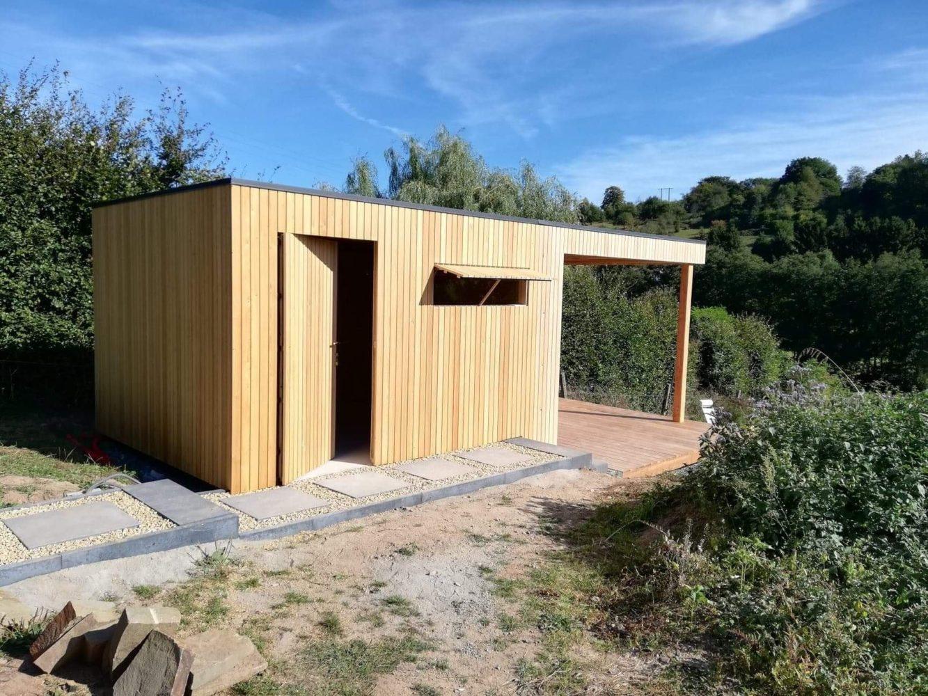 Tendance Bois - Menuiserie Et Mobilier Bois | Abri De Jardin ... avec Abri Jardin Design