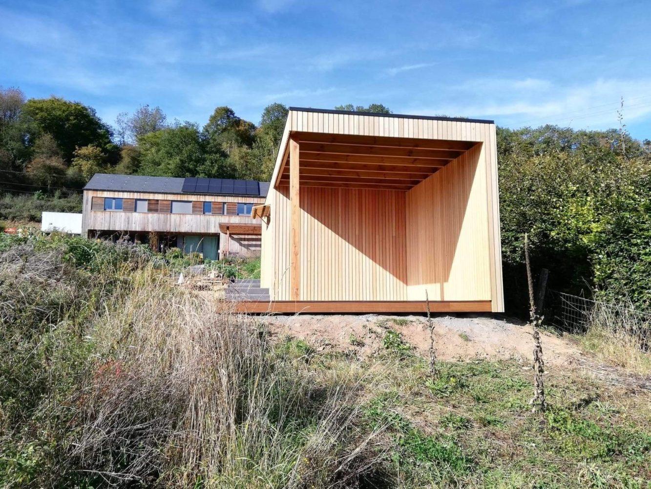 Tendance Bois - Menuiserie Et Mobilier Bois | Abri De Jardin ... dedans Abri De Jardin Design