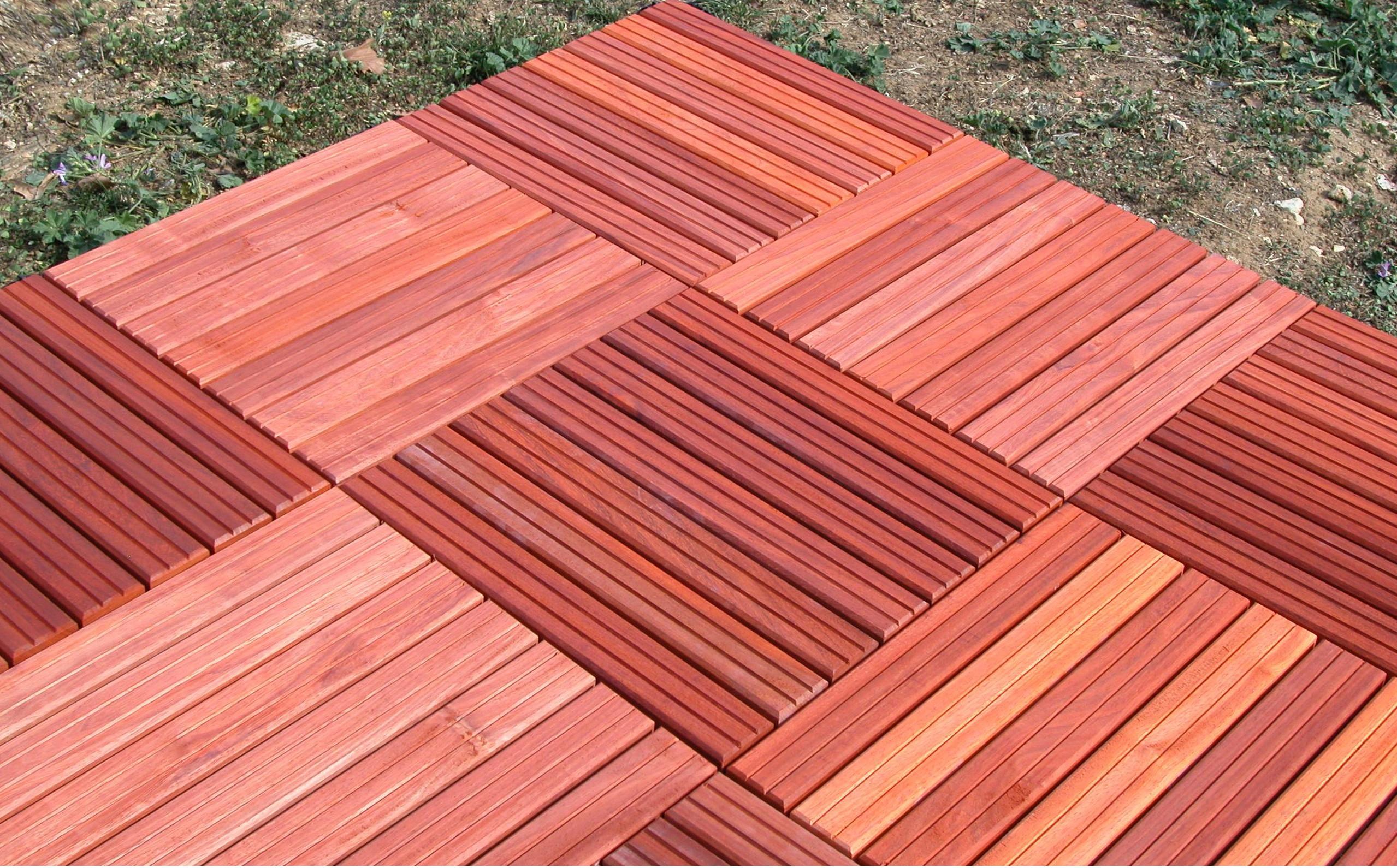 Terrasse avec Caillebotis Bois Exterieur