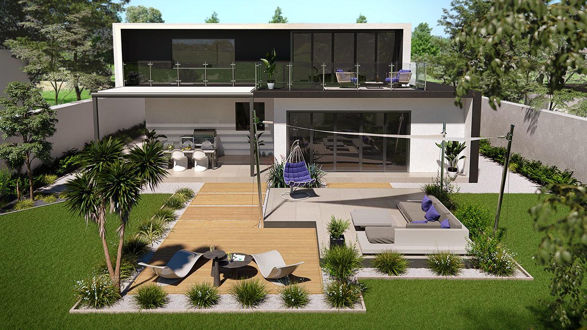 Terrasse Design : Faites Le Pleins D'idées Avec Ce Projet ... destiné Amenagement De Terrasse