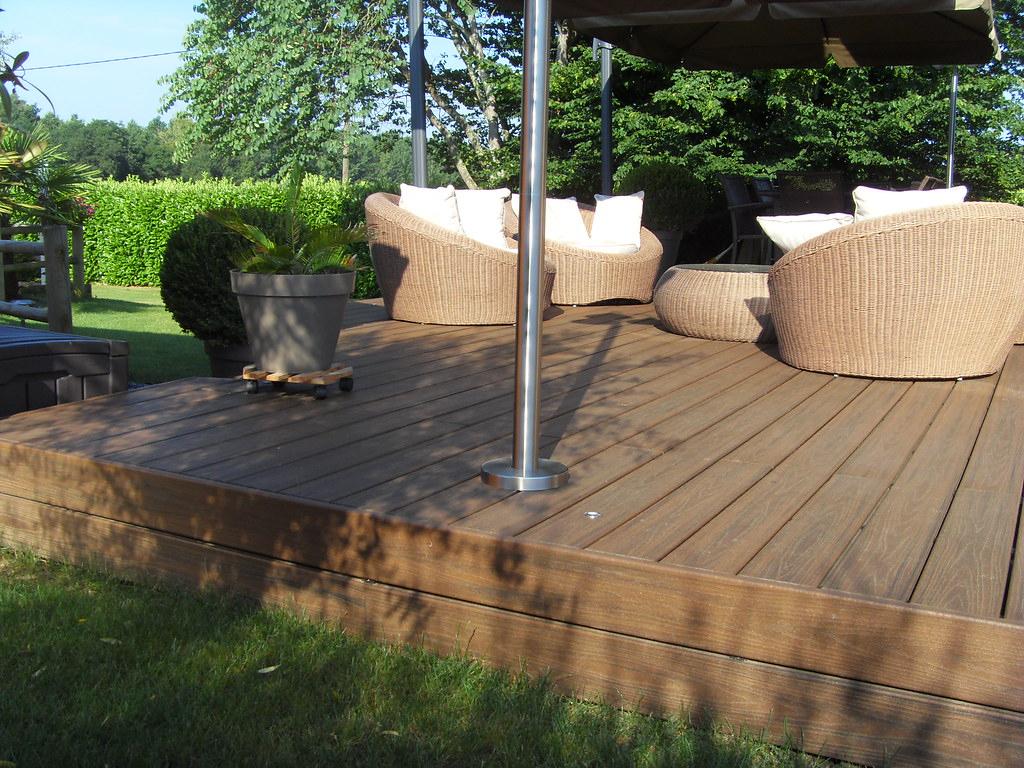 Terrasse En Bois Composite Trex Bed La Baule .bois-Expo ... intérieur Terrasse Bois Composite