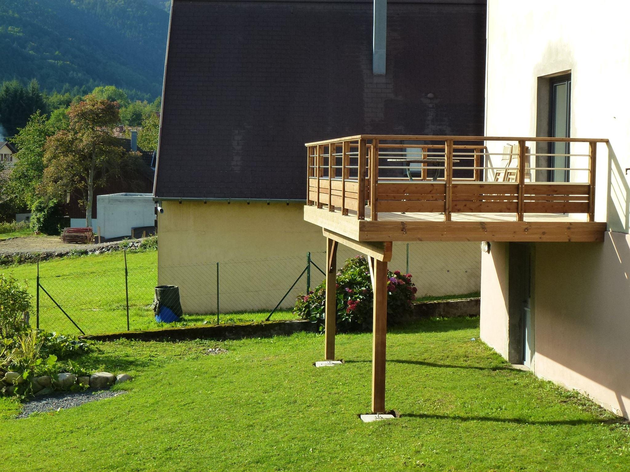 Terrasse Sur Pilotis, À Quoi Faut Il Veiller. Le Blog De Woodia serapportantà Terrasse Bois Pilotis