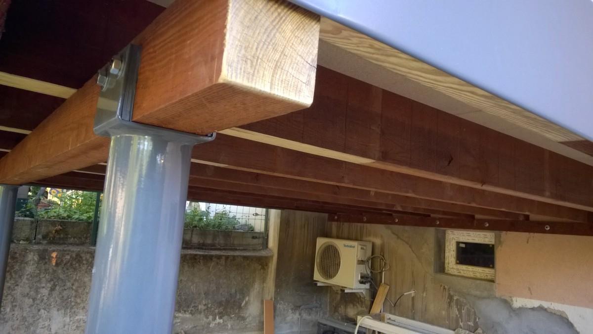 Terrasse Sur Pilotis Étanche - Sd Constructions Bois pour Terrasse Bois Pilotis