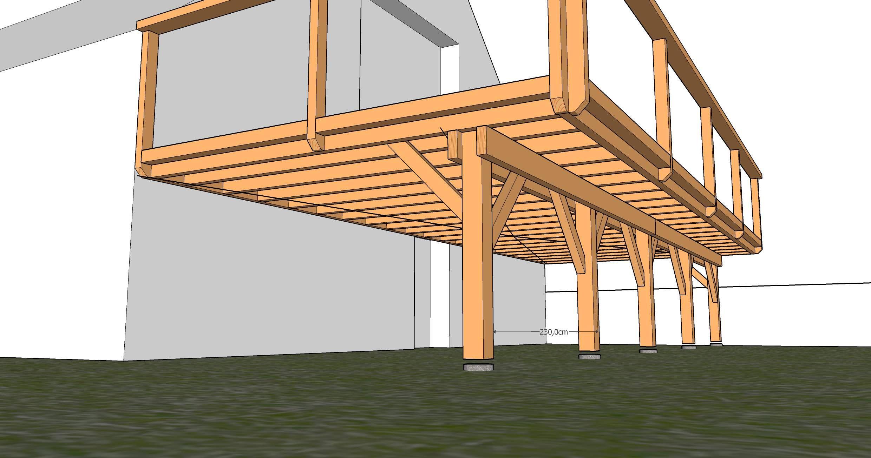 Terrasse Sur Pilotis (Jacky) - Terrasse En Bois : Comment ... concernant Terrasse Bois Pilotis