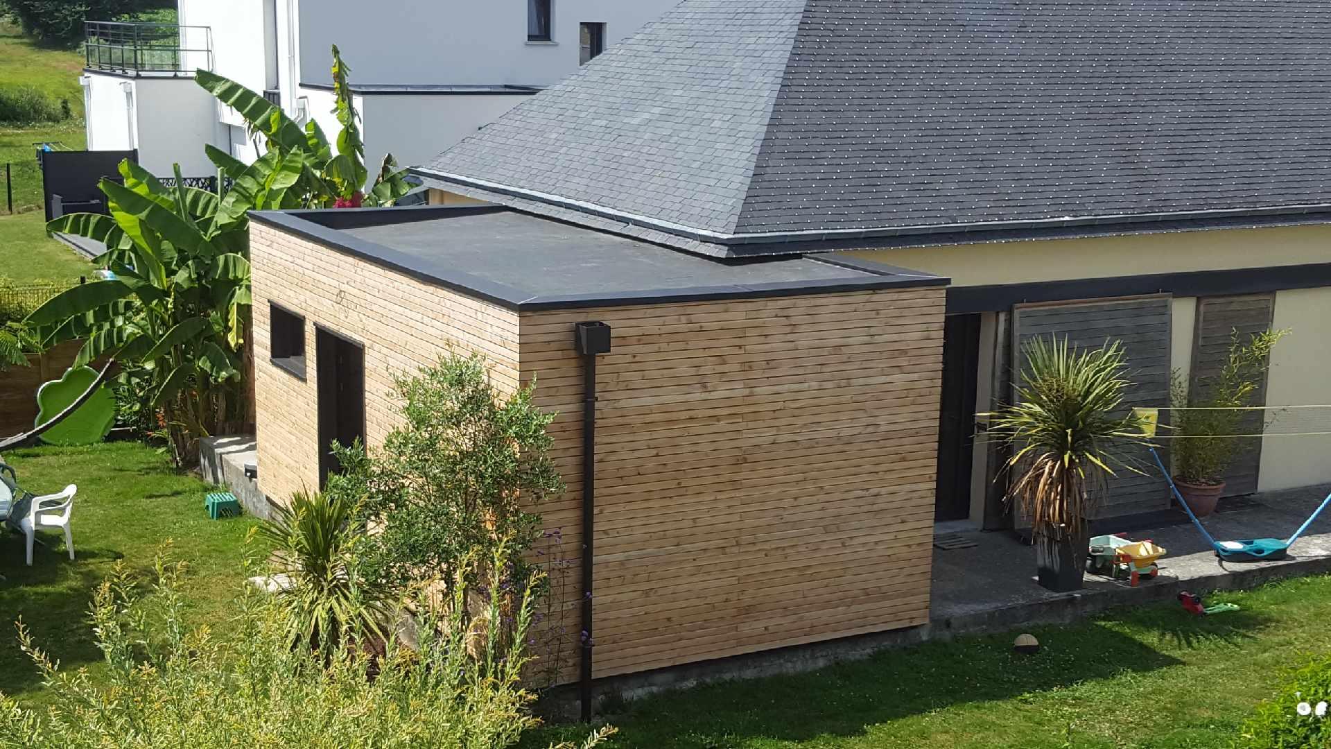 Toit Plat - Epdm - Couverture - Couvreur - Limerzel ... concernant Terrasse Toit Plat