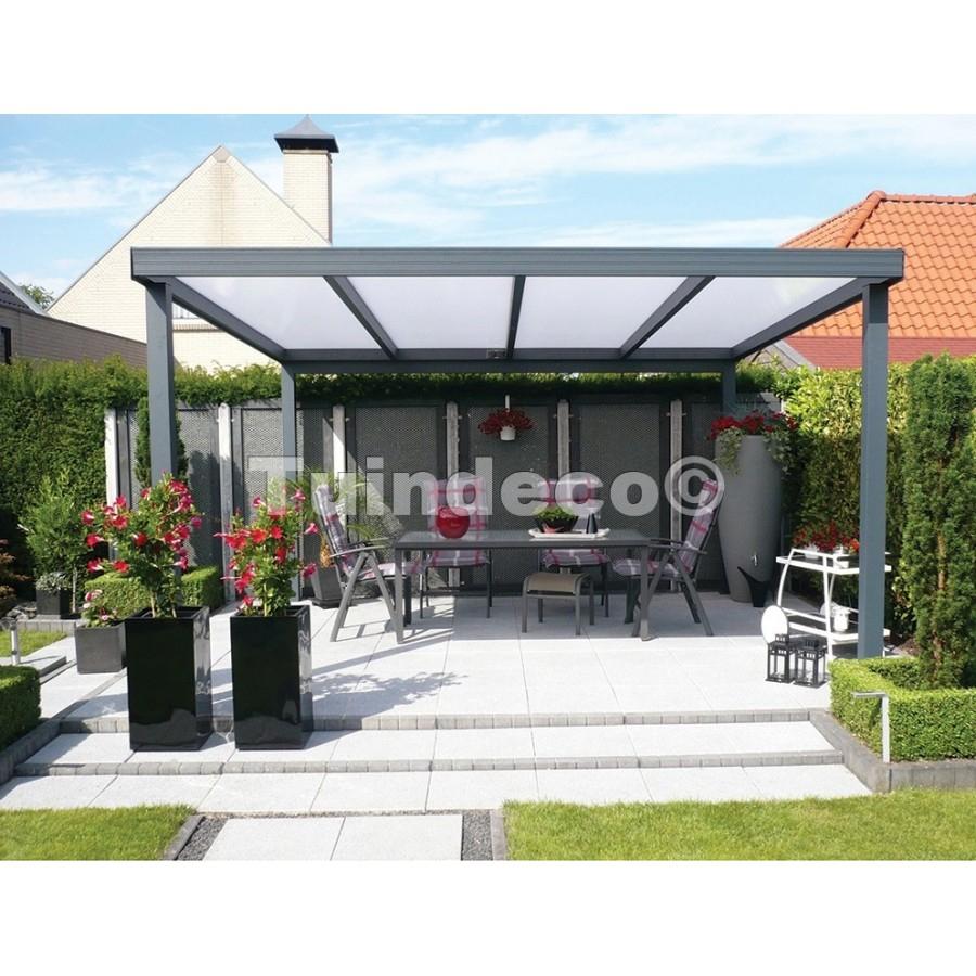 Toiture Terrasse Aluminium 500Cm De Tuindeco tout Toit Terrasse Aluminium