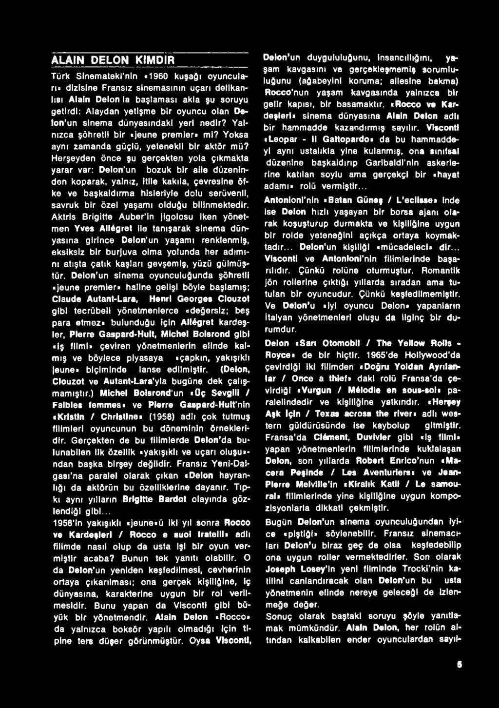 Türk Sinematek I Kitap Köşesi - Pdf Free Download destiné Salon De Jardin Truffaut