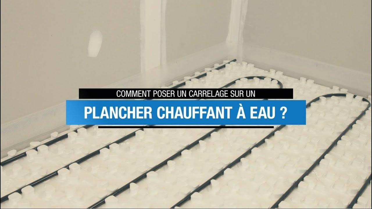 Tuto Mapei : Coller Du Carrelage Sur Un Plancher Chauffant destiné Coller Du Carrelage Sur Du Carrelage