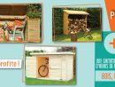 Un Abri De Rangement En Bois Pour Ordonner Son Jardin ... avec Abri Bois Exterieur