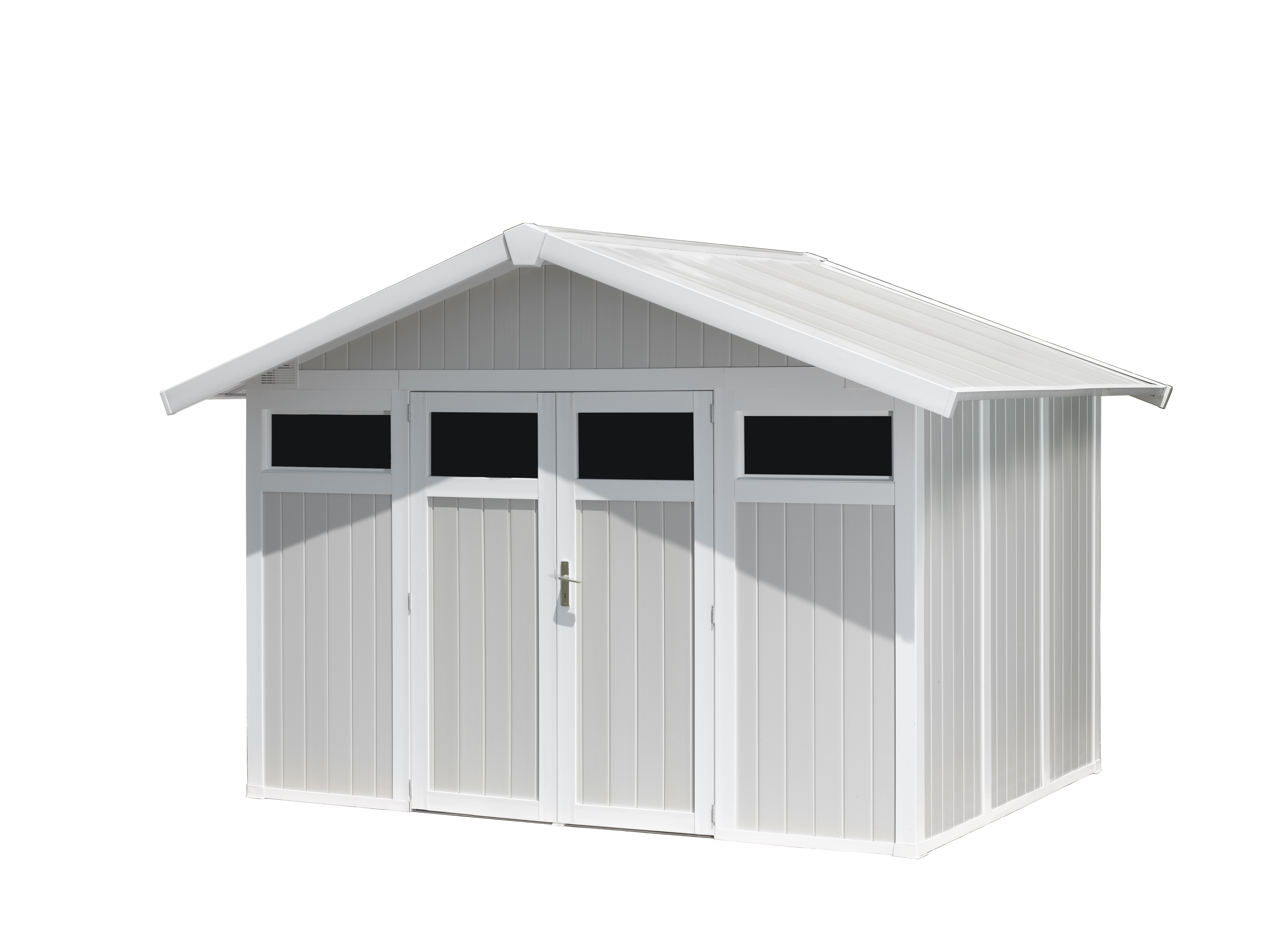 Utility Garden Shed 7,5 M² | Grosfillex destiné Abri Jardin Grosfillex